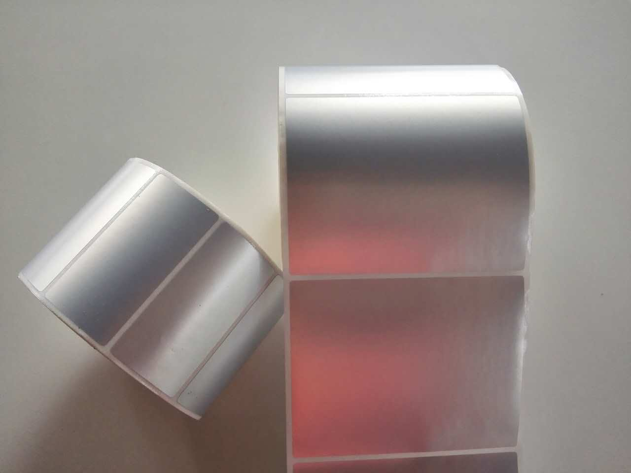 厂家定制条码标签纸 银色防水标签 五金家电标签