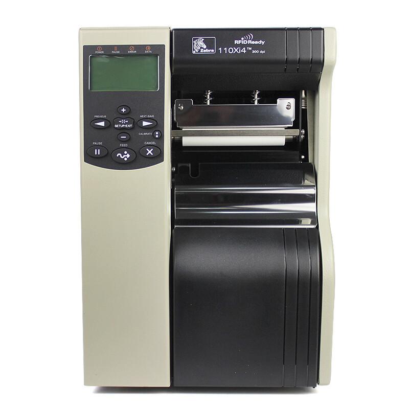 斑马ZEBRA 110Xi4 600dpi重工业条码打印机