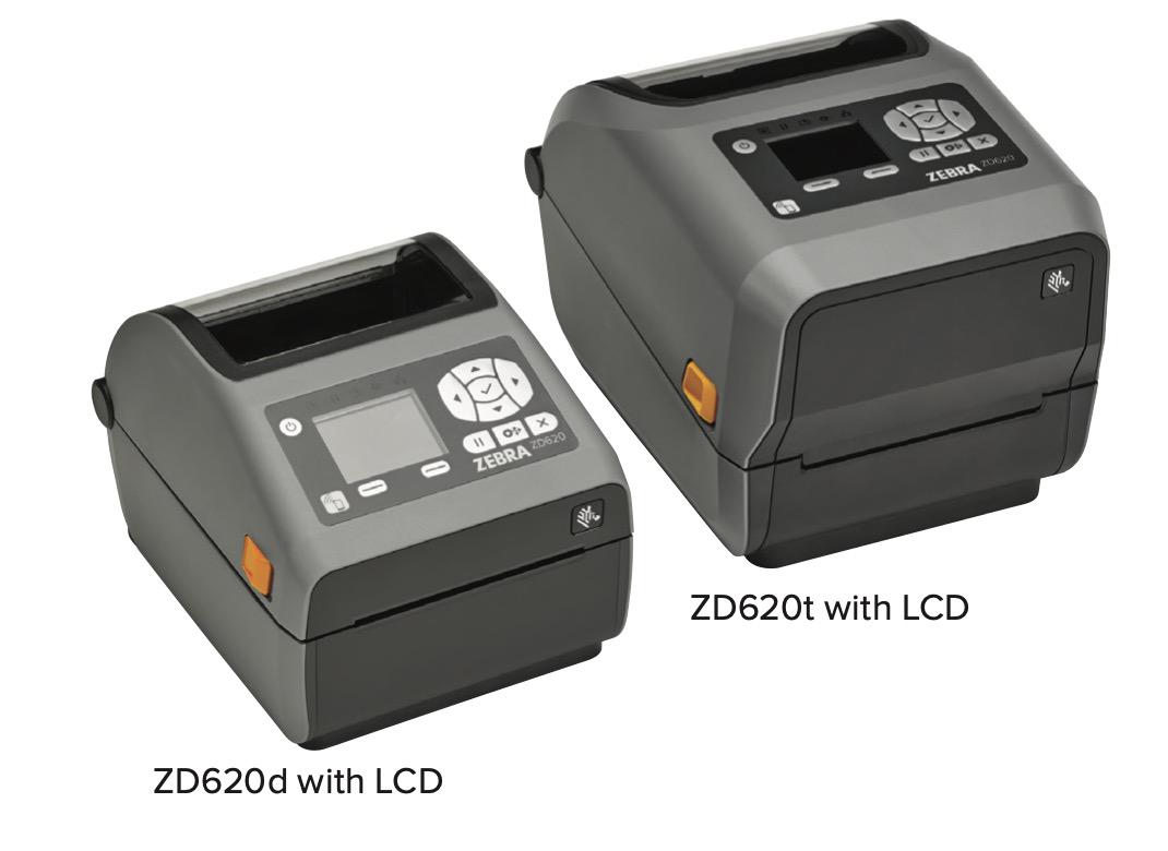 斑马ZEBRA 新款桌面打印机ZD620