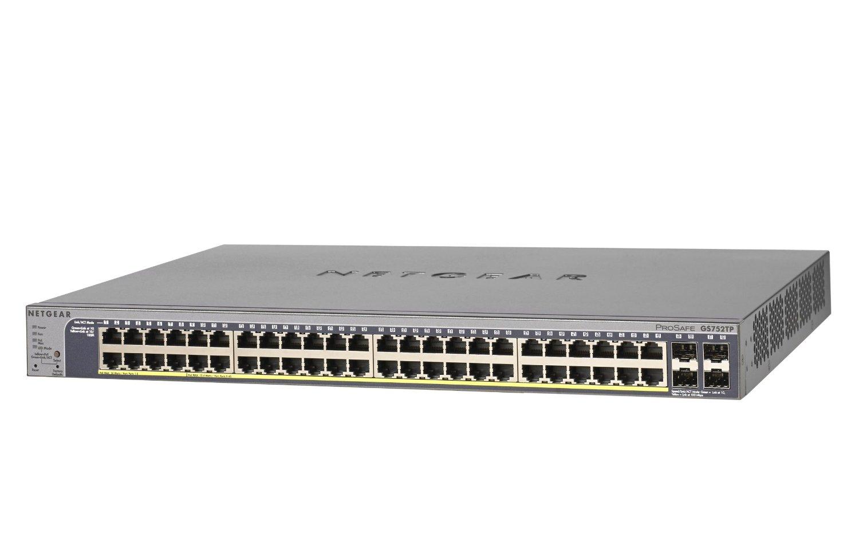 網件Netgear GS752TP 千兆智能網管交換機